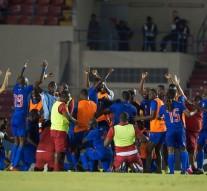 Football: Haiti se trouve dans le Chapeau 3 avec des homologues de la Concacaf