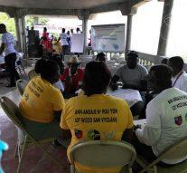 La MINUJUSTH et le GRADE s'unissent contre la violence communautaire dans la commune de Roseaux